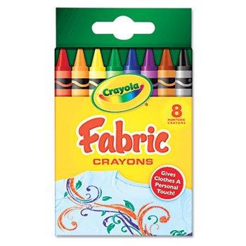 Crayola fabric transfer crayons