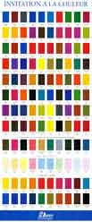 H dupont dye color chart
