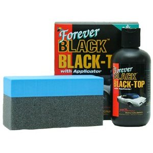 Forever black car top dye