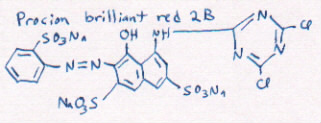 structure of red 2B