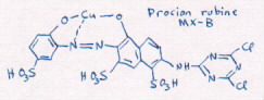 structure of rubine B